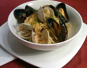 Mussel & Clam Summer Pasta